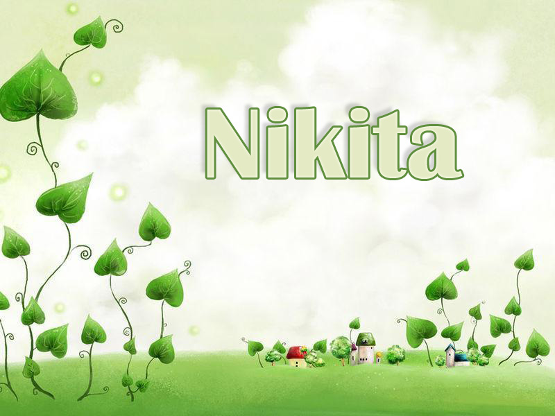 Pictures with name Nikita