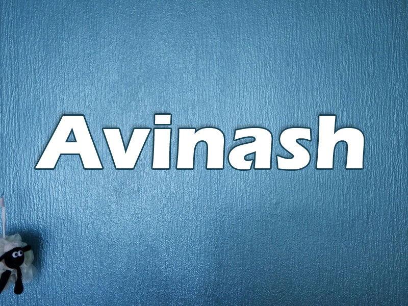 Pictures with names Avinash